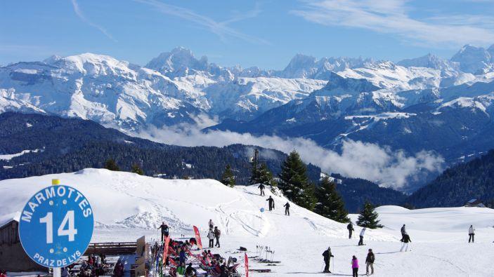 Wintersport Praz de Lys