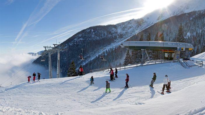 Wintersport Puchberg am Schneeberg