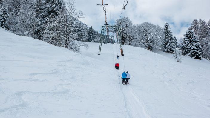 Wintersport skigebied Grosses Walsertal - Raggal-Marul