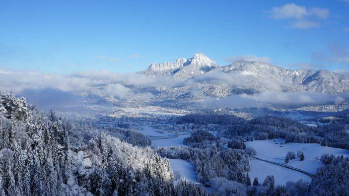 Wintersport skigebied Höfen–Reutte