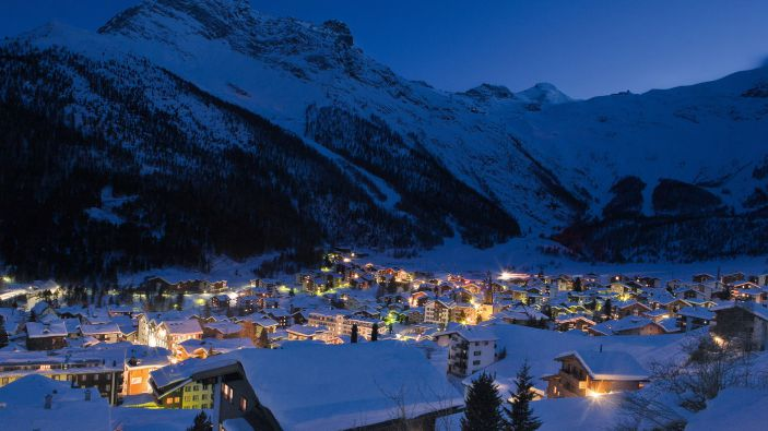 Wintersport Saas-Fee