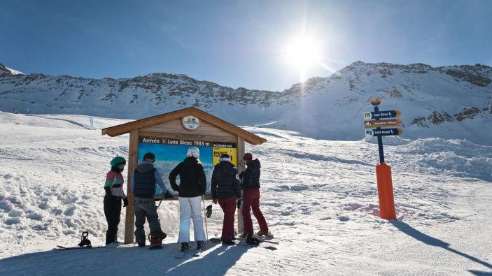 Wintersport Saint François Longchamp