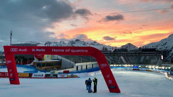 Wintersport Sankt Moritz