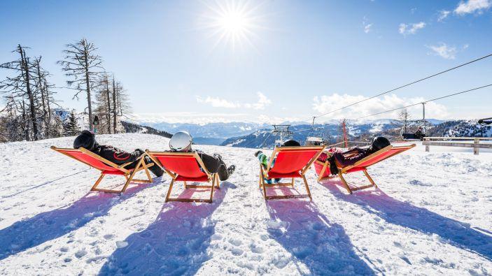Wintersport skigebied Bad Kleinkirchheim