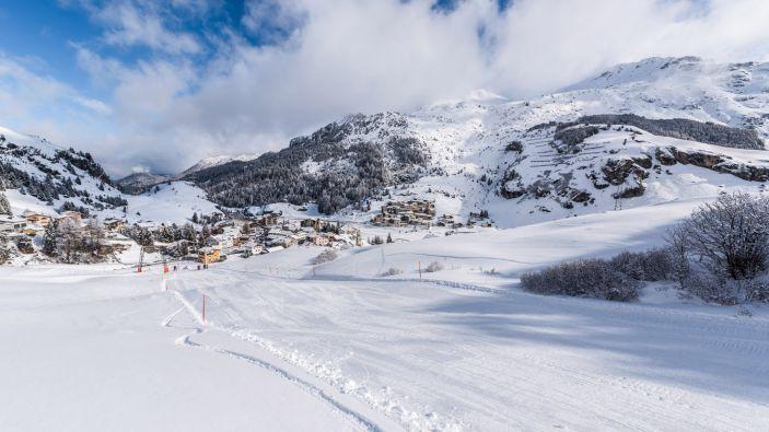 Wintersport skigebied Savognin