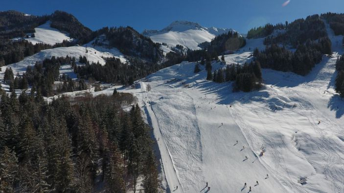 Wintersport Schwarzsee