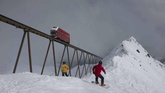 Wintersport skigebied Axamer Lizum