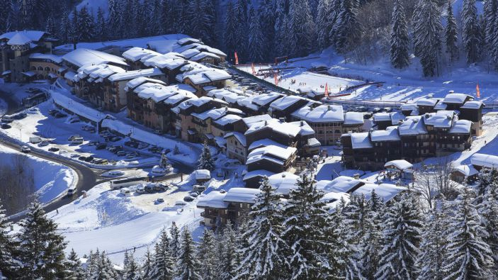 Wintersport skigebied Le Grand Domaine
