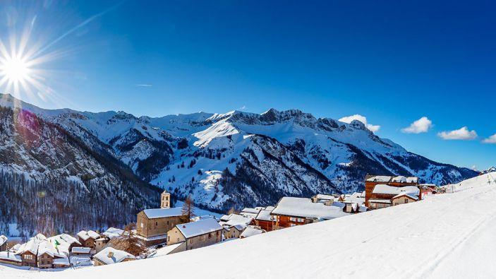 Skigebied Queyras-Molines