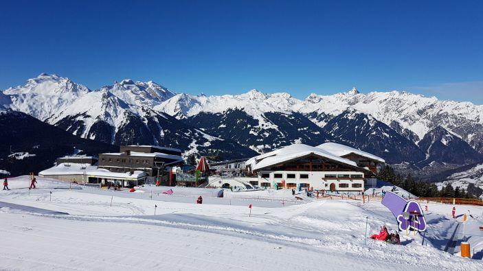 Wintersport skigebied Silvretta Montafon