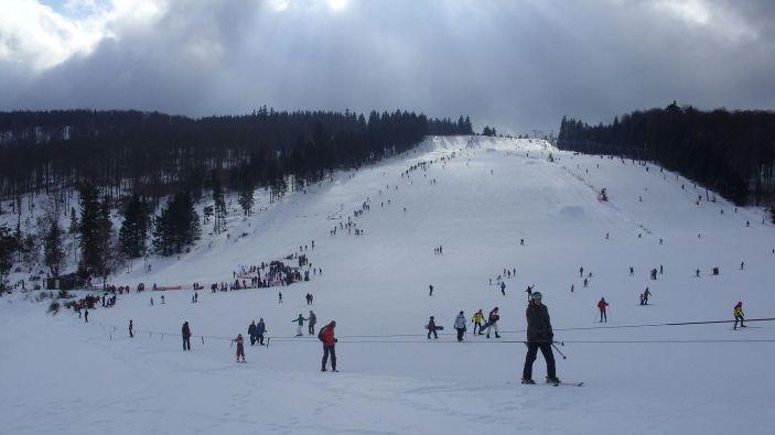 Wintersport skigebied Snow World Züschen