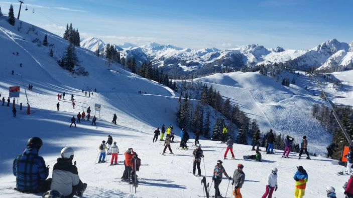 Wintersport skigebied Skiparadies Zauchensee