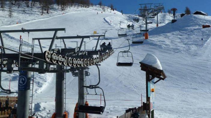 Wintersport skigebied Skizentrums St. Jakob