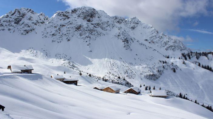 Wintersport Walsertal - Sonntag-Stein