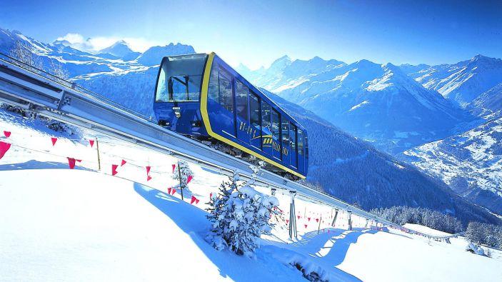 Wintersport St. Luc