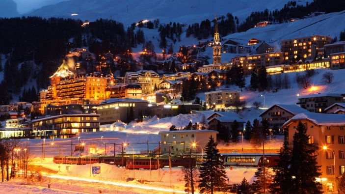 Wintersport St. Moritz Bad