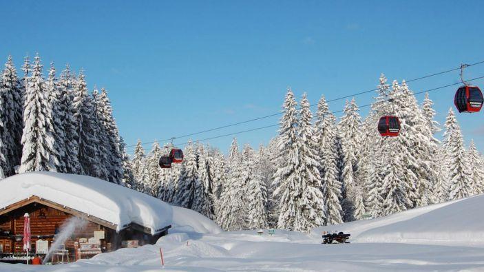Wintersport Steinplatte–Winklmoosalm