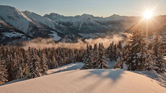 Wintersport Tschuggen