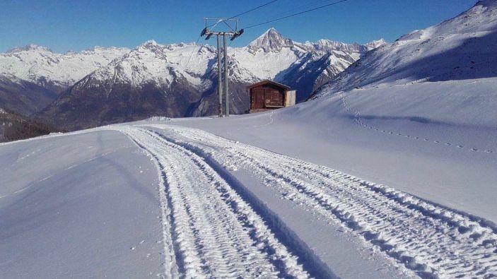 Wintersport Unterbäch