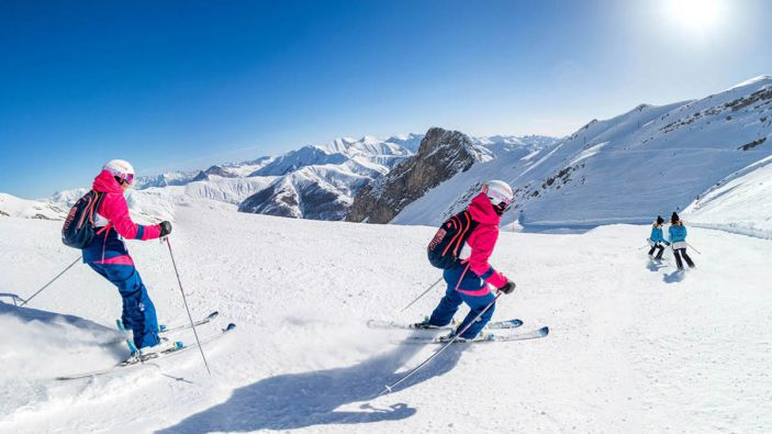 Wintersport La Foux d'Allos