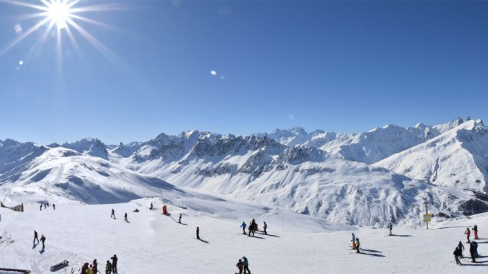 Wintersport Valloire