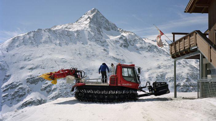 Wintersport skigebied Ötztal Vent