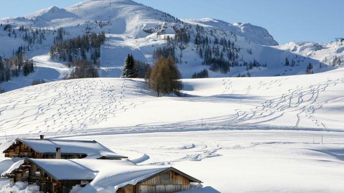 Wintersport skigebied Steinplatte-Winklmoosalm