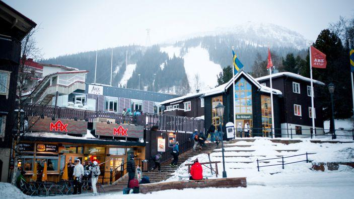 Wintersport in Zweden - Åre