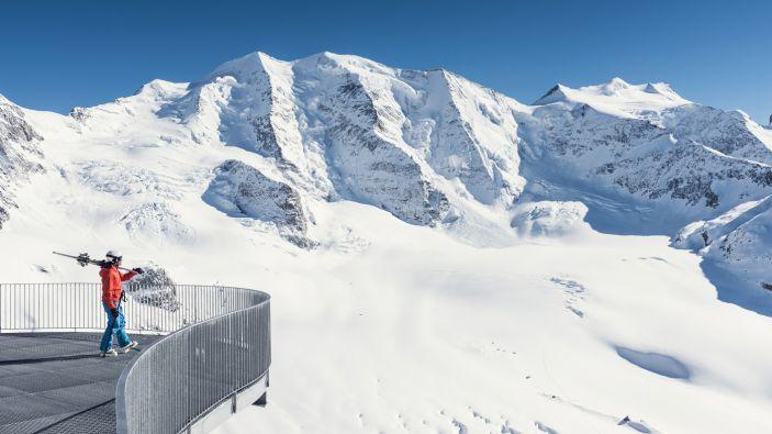Wintersport skigebied Diavolezza-Lagalb