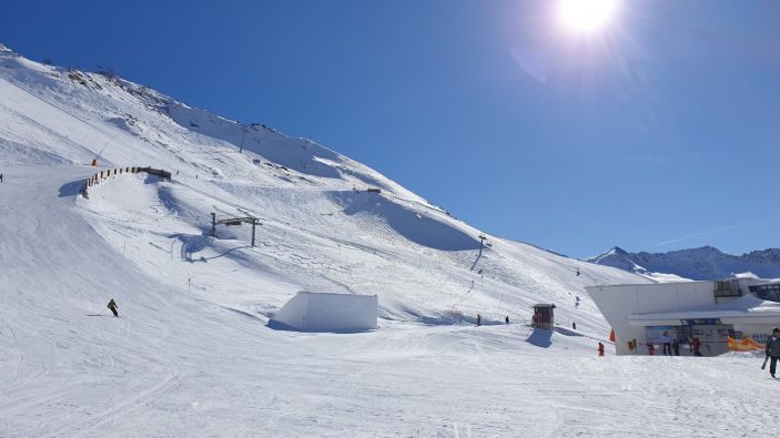 Wintersport in Obergurgl