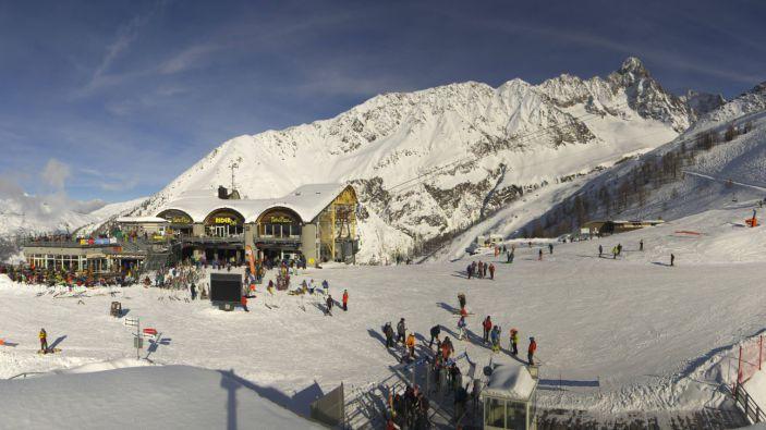 Wintersport skigebied Argentière