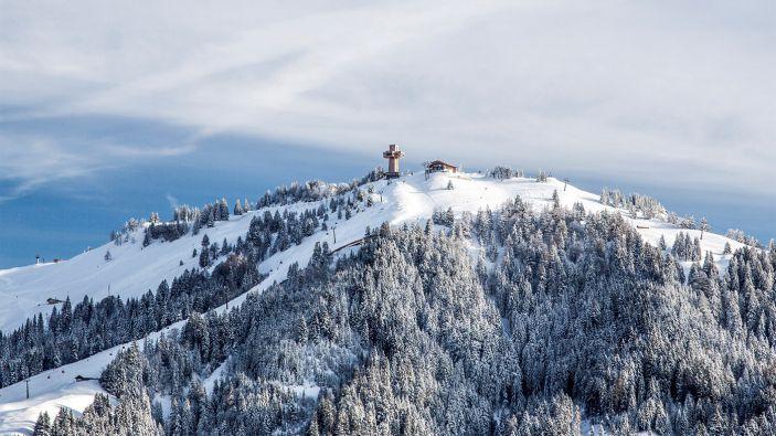 Wintersport skigebied Buchensteinwand