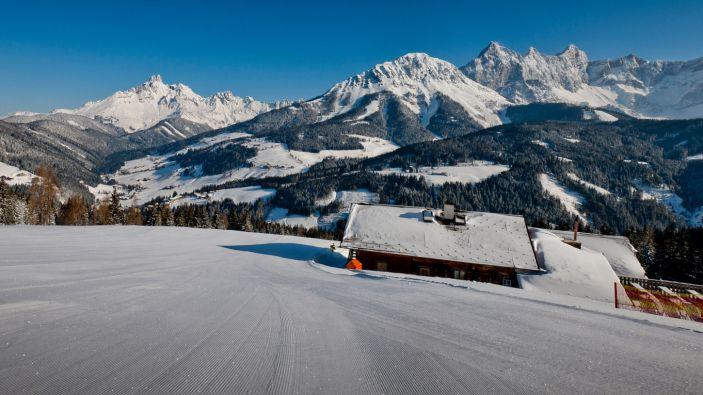 Wintersport skigebied Filzmoos-Neuberg