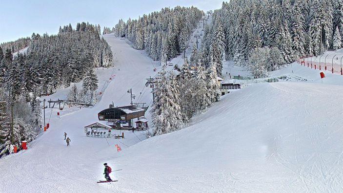 Wintersport skigebied Gérardmer Ski