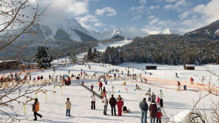 Wintersport skigebied Hoch-Imst