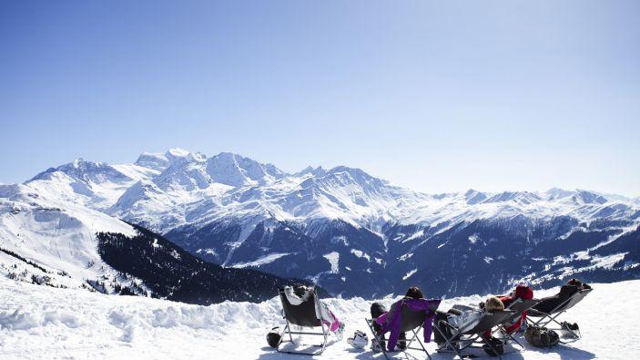 Wintersport skigebied Les 4 Vallées