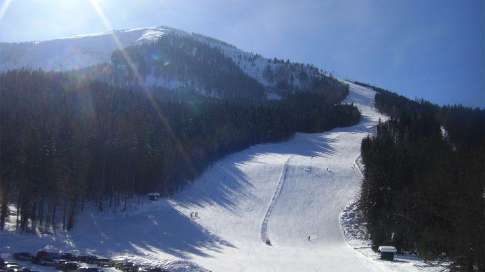 Wintersport skigebied Ötscher