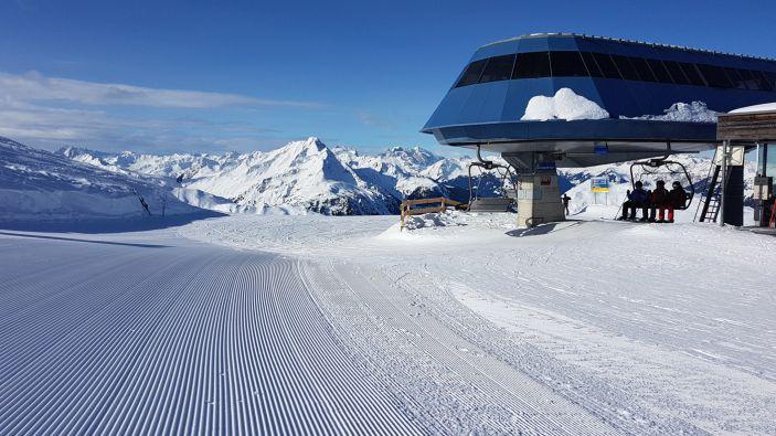 Wintersport skigebied Sonnenkopf