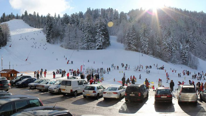 Wintersport Skigebied Ventron