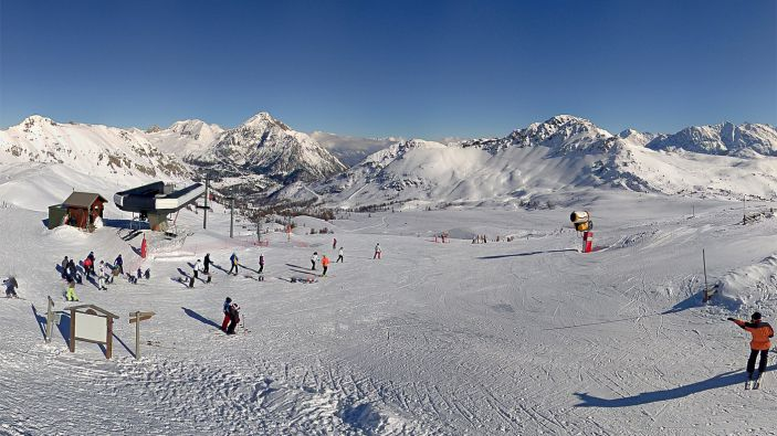Wintersport skigebied Via Lattea - Frankrijk
