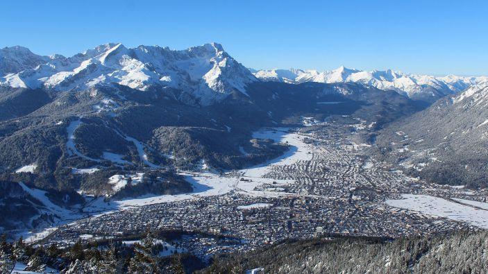 Wintersport Garmisch-Partenkirchen