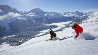 Wintersport Graubünden - Engadin Sankt Moritz