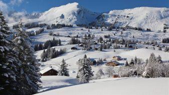 Wintersport Les Mosses