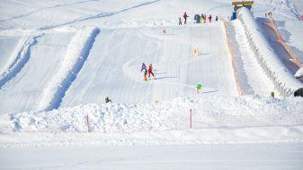 Wintersport in Postalm Arena