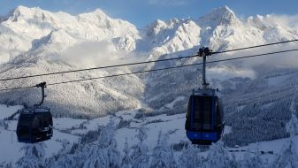 Wintersport skigebied Hochkönig