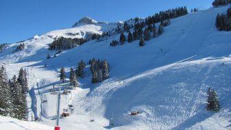 Wintersport Thollon les Mémises