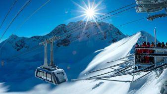 Wintersport skigebied Arosa Lenzerheide