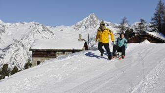 Wintersport Bürchen