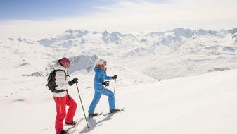 Wintersport  Sils im Engadin - Furtschellas