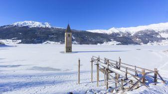 Wintersport in Graun